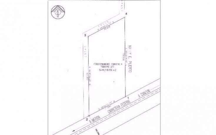 Foto de terreno habitacional en venta en, tierra maya, benito juárez, quintana roo, 1113799 no 01