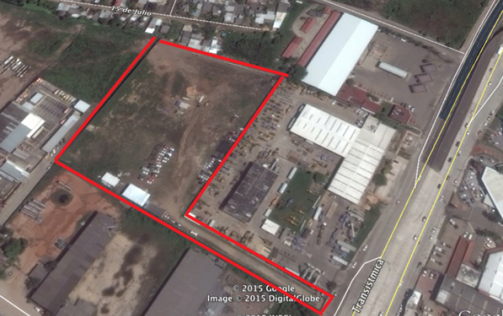 Foto de terreno comercial en renta en, tierra nueva, coatzacoalcos, veracruz, 1062747 no 01