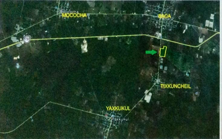 Foto de terreno comercial en venta en  , tixkuncheil, baca, yucatán, 1271347 No. 03