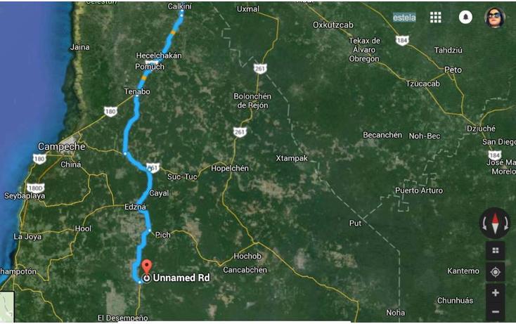 Foto de terreno habitacional en venta en, tixmucuy, campeche, campeche, 1719580 no 11