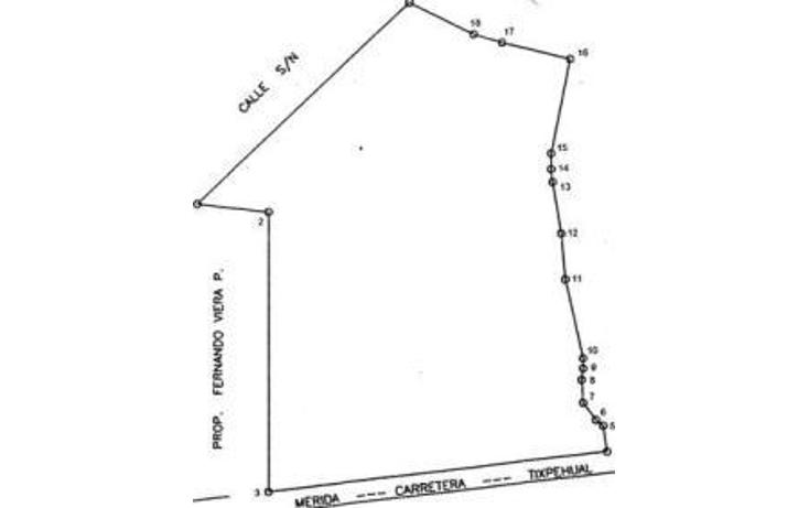 Foto de terreno comercial en renta en  , tixpehual, tixpéhual, yucatán, 1098355 No. 02