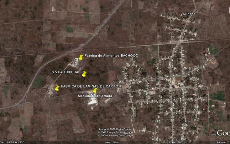 Foto de terreno habitacional en venta en, tixpehual, tixpéhual, yucatán, 1110573 no 02