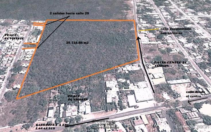 Foto de terreno comercial en venta en  , tizimin centro, tizim?n, yucat?n, 1384299 No. 01
