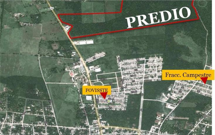 Foto de terreno habitacional en venta en, tizimin centro, tizimín, yucatán, 1719264 no 02