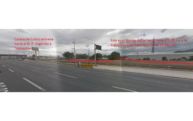 Foto de terreno comercial en venta en  , tlacateco, tepotzotlán, méxico, 1602330 No. 01