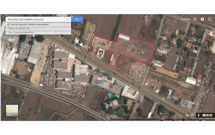 Foto de terreno comercial en venta en  , tlalixtac de cabrera, tlalixtac de cabrera, oaxaca, 1646583 No. 07