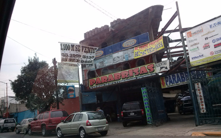 Foto de terreno comercial en venta en  , tlalnepantla centro, tlalnepantla de baz, méxico, 1254565 No. 01