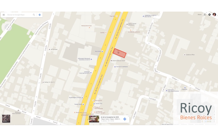 Foto de terreno comercial en venta en  , tlalpan centro, tlalpan, distrito federal, 1865088 No. 02