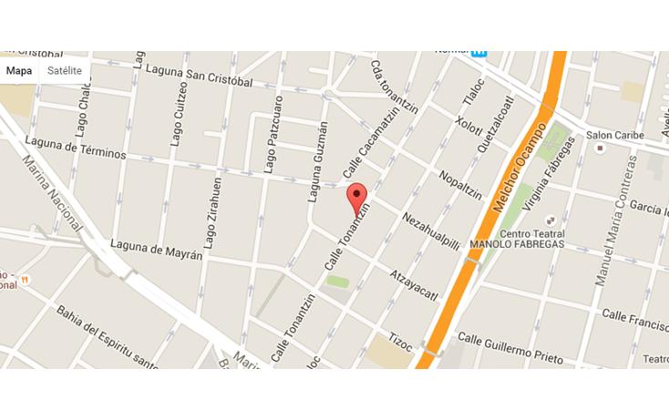 Foto de terreno habitacional en venta en  , tlaxpana, miguel hidalgo, distrito federal, 1671939 No. 02