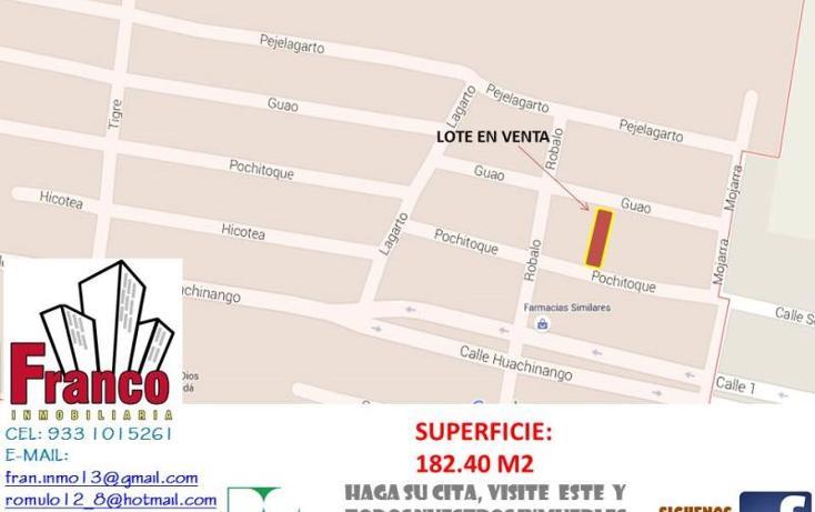 Foto de terreno habitacional en venta en  , tomas garrido, comalcalco, tabasco, 1412155 No. 02