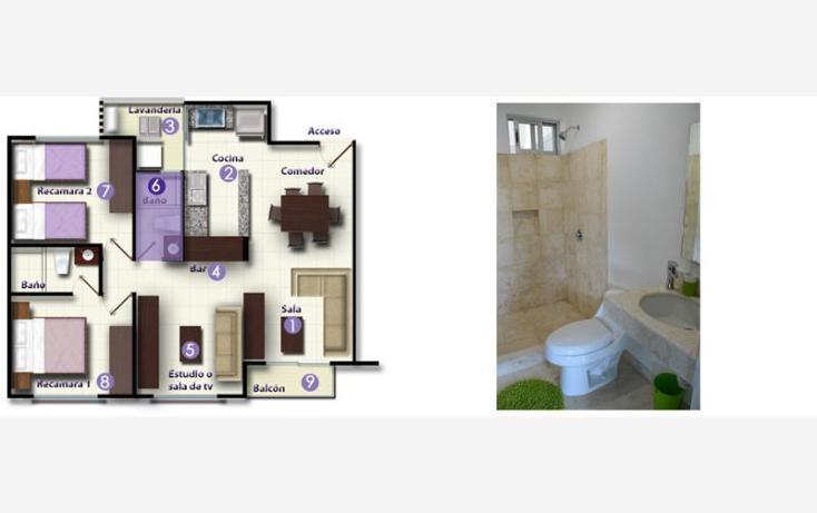 Foto de departamento en renta en  torre, zona hotelera, benito juárez, quintana roo, 820829 No. 17