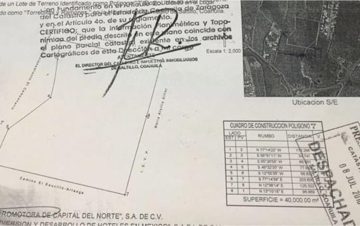 Foto de terreno habitacional en venta en  , torrecillas y ramones, saltillo, coahuila de zaragoza, 2631678 No. 04
