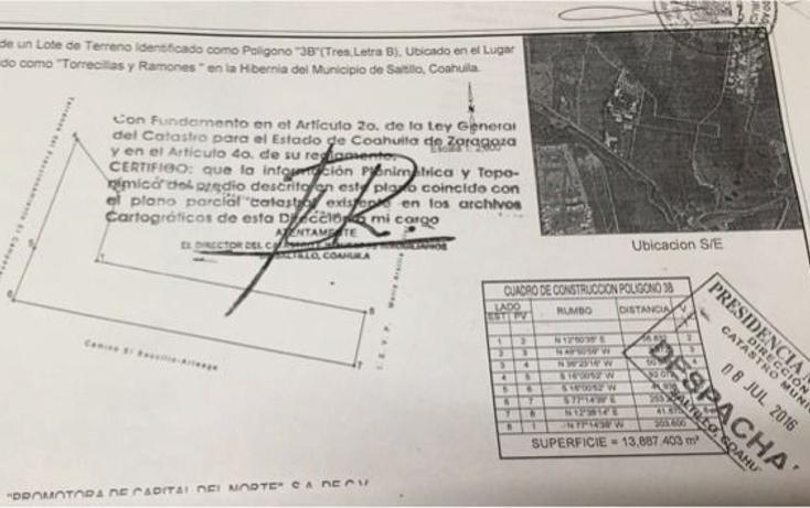 Foto de terreno habitacional en venta en  , torrecillas y ramones, saltillo, coahuila de zaragoza, 2631678 No. 05