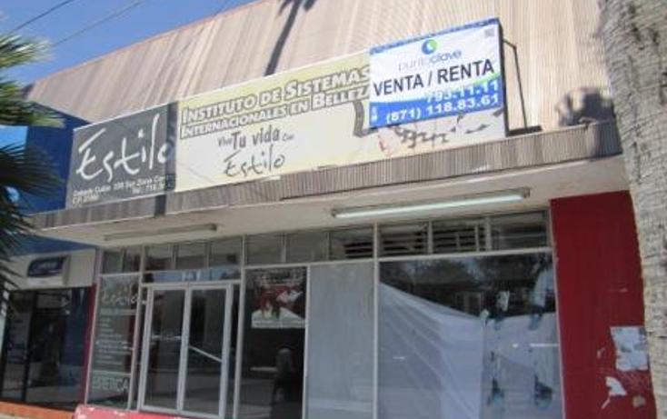 Foto de local en renta en  , torreón centro, torreón, coahuila de zaragoza, 1324269 No. 01