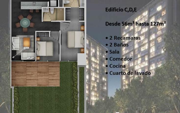 Foto de departamento en venta en  , torres de potrero, álvaro obregón, distrito federal, 1325541 No. 02