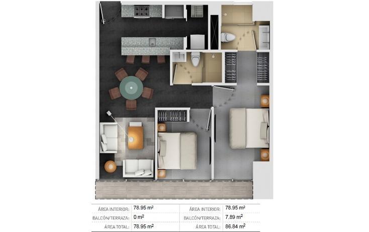 Foto de departamento en venta en  , torres de potrero, álvaro obregón, distrito federal, 934651 No. 04