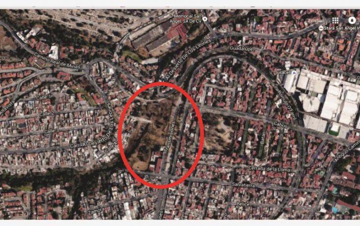 Foto de terreno habitacional en venta en transmisiones 21 97, olivar de los padres, álvaro obregón, df, 1686360 no 01