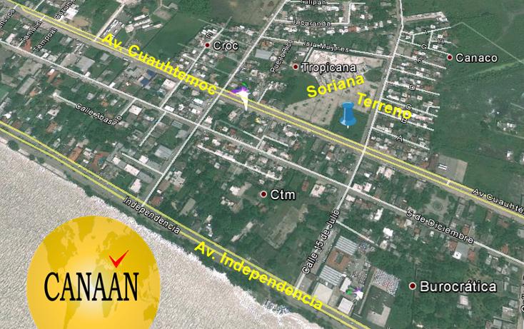 Foto de terreno comercial en venta en  , tropicana, tuxpan, veracruz de ignacio de la llave, 1173053 No. 02