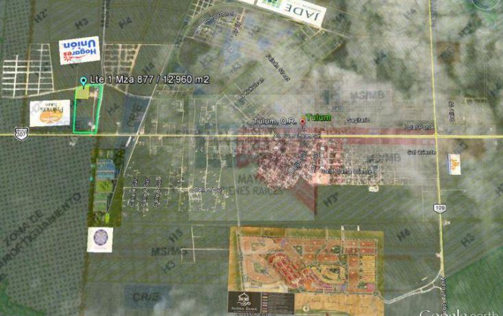 Foto de terreno habitacional en venta en tulum 913, tulum centro, tulum, quintana roo, 784951 no 01