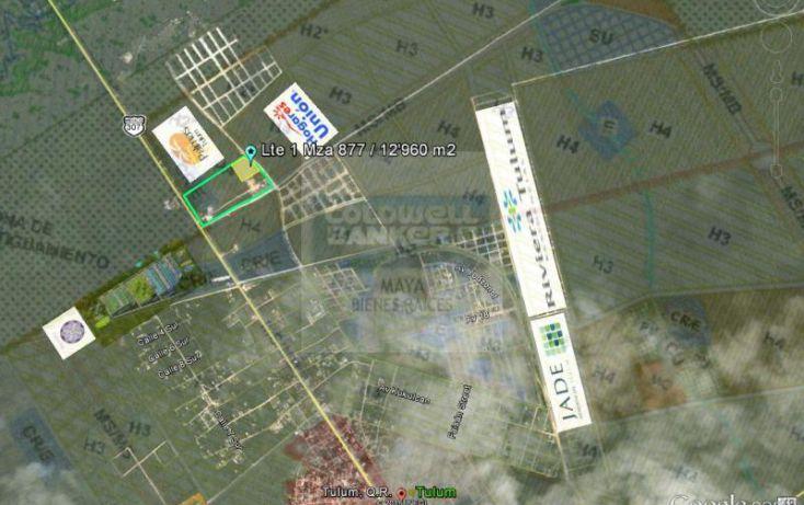 Foto de terreno habitacional en venta en tulum 913, tulum centro, tulum, quintana roo, 784951 no 02