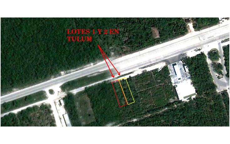 Foto de terreno habitacional en venta en  , tulum centro, tulum, quintana roo, 1097803 No. 02