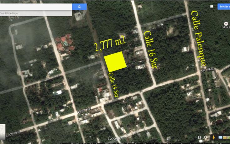 Foto de terreno habitacional en venta en  , tulum centro, tulum, quintana roo, 1117079 No. 01