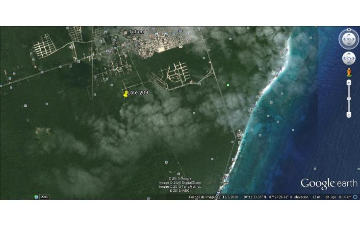 Foto de terreno habitacional en venta en  , tulum centro, tulum, quintana roo, 1245547 No. 02