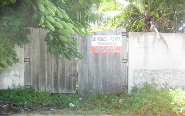 Foto de terreno habitacional en venta en, tulum centro, tulum, quintana roo, 1289253 no 01