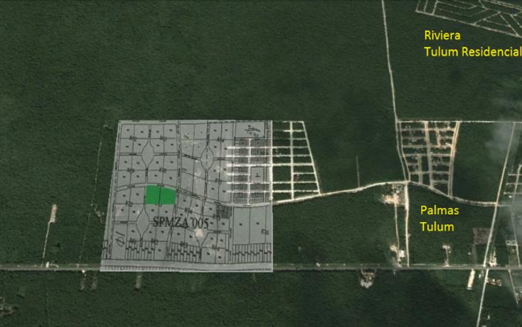 Foto de terreno comercial en venta en  , tulum centro, tulum, quintana roo, 1370993 No. 02