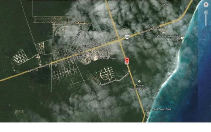 Foto de terreno habitacional en venta en  , tulum centro, tulum, quintana roo, 1396981 No. 01
