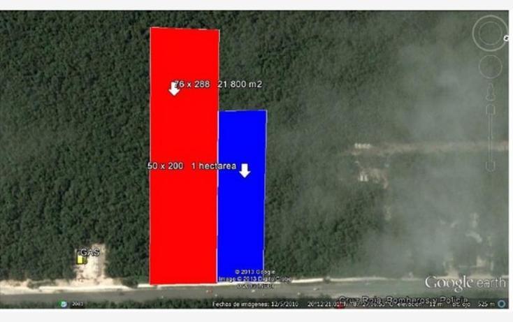 Foto de terreno habitacional en venta en  , tulum centro, tulum, quintana roo, 1396989 No. 01