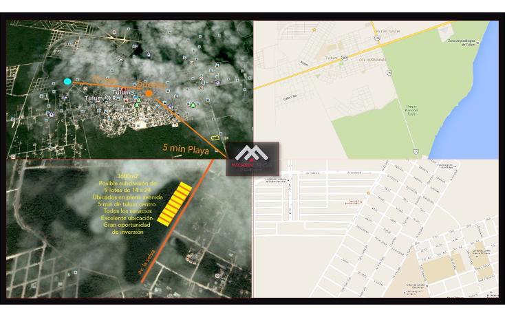 Foto de terreno habitacional en venta en  , tulum centro, tulum, quintana roo, 1400187 No. 01