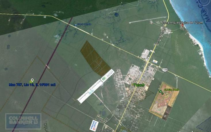 Foto de terreno comercial en venta en  , tulum centro, tulum, quintana roo, 1848548 No. 05