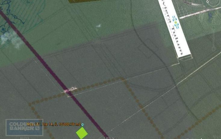 Foto de terreno comercial en venta en  , tulum centro, tulum, quintana roo, 1848550 No. 06