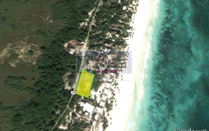 Foto de terreno habitacional en venta en, tulum centro, tulum, quintana roo, 1848556 no 05