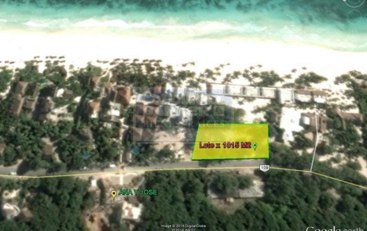 Foto de terreno habitacional en venta en, tulum centro, tulum, quintana roo, 1848556 no 07
