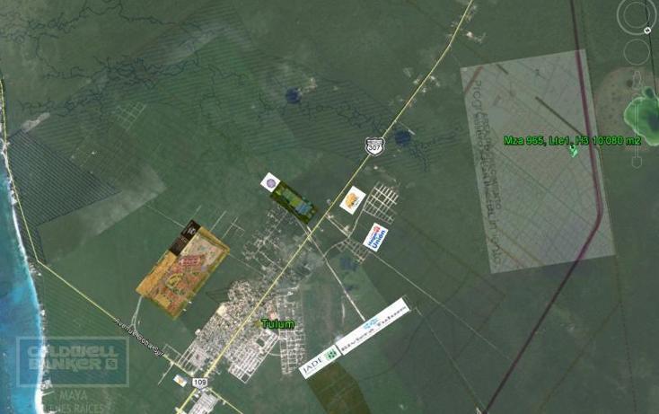 Foto de terreno comercial en venta en  , tulum centro, tulum, quintana roo, 1848944 No. 01