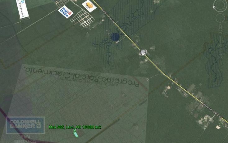 Foto de terreno comercial en venta en  , tulum centro, tulum, quintana roo, 1848944 No. 02