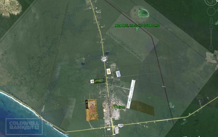 Foto de terreno comercial en venta en  , tulum centro, tulum, quintana roo, 1848944 No. 06