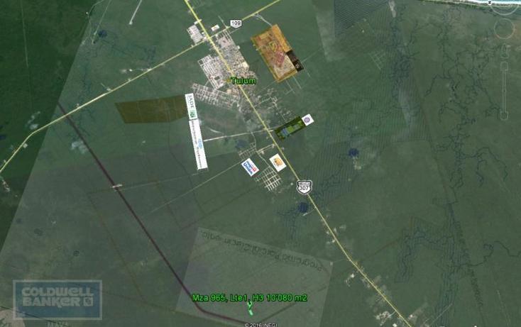 Foto de terreno comercial en venta en  , tulum centro, tulum, quintana roo, 1848944 No. 07