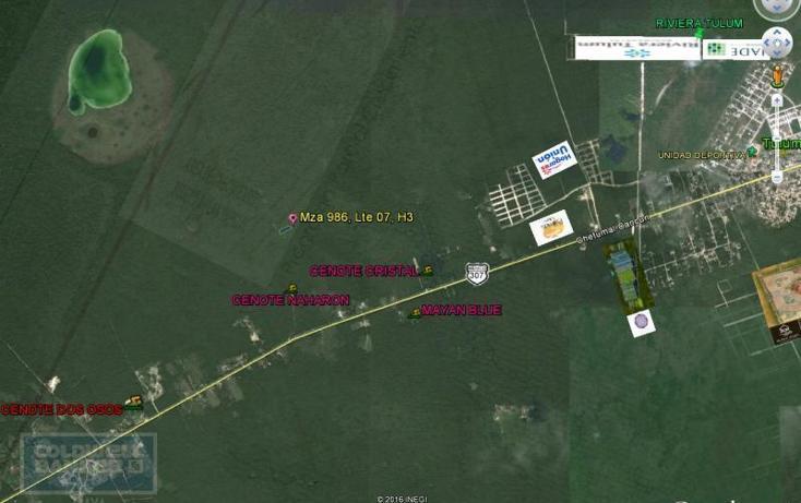 Foto de terreno comercial en venta en  , tulum centro, tulum, quintana roo, 1848946 No. 01