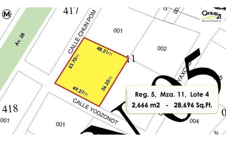 Foto de terreno habitacional en venta en  , tulum centro, tulum, quintana roo, 1858100 No. 04