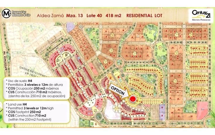 Foto de terreno habitacional en venta en  , tulum centro, tulum, quintana roo, 1858104 No. 02