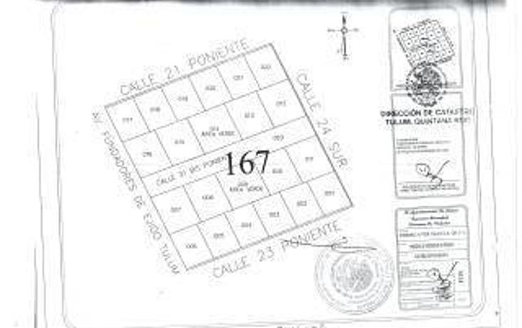 Foto de terreno habitacional en venta en  , tulum centro, tulum, quintana roo, 1862974 No. 05