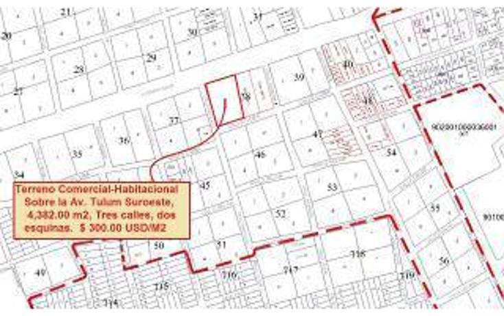 Foto de terreno habitacional en venta en  , tulum centro, tulum, quintana roo, 1862978 No. 01