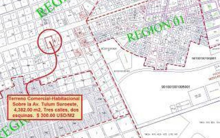 Foto de terreno habitacional en venta en  , tulum centro, tulum, quintana roo, 1862978 No. 02