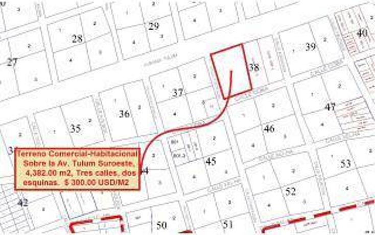 Foto de terreno habitacional en venta en  , tulum centro, tulum, quintana roo, 1862978 No. 03