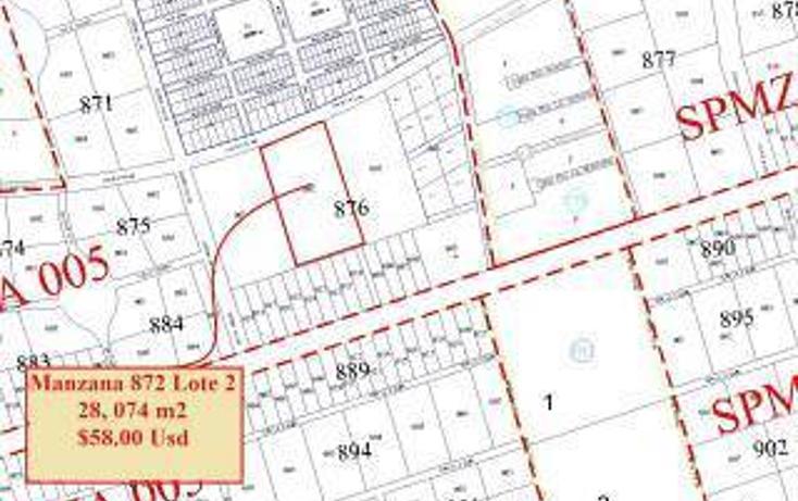Foto de terreno habitacional en venta en  , tulum centro, tulum, quintana roo, 1862980 No. 01