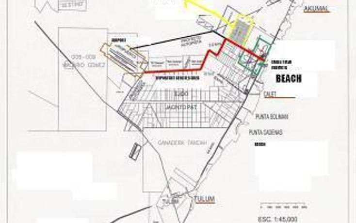 Foto de terreno habitacional en venta en  , tulum centro, tulum, quintana roo, 1862982 No. 02