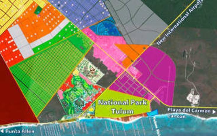 Foto de terreno habitacional en venta en  , tulum centro, tulum, quintana roo, 1862994 No. 02